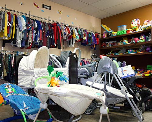 Ravalli Services Thrift Store Children's Items