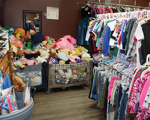 Ravalli Services Thrift Store Clothing Toys