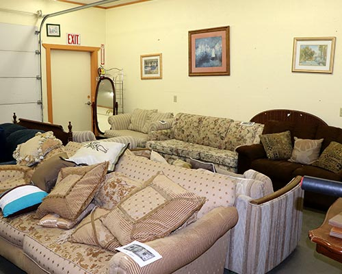Ravalli Services Thrift Store Furniture