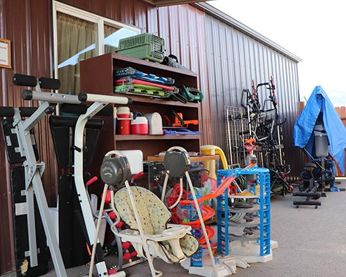 Ravalli Services Thrift Store Workout Equipment